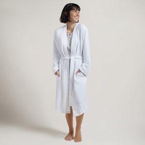 Parachute Cloud White Cotton Robe Sz Small